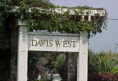 Davis West Homes are West of 880 at Davis street