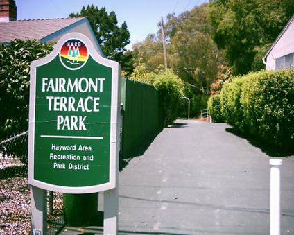 Fairmont Terrace in the foothills above 580 freeway