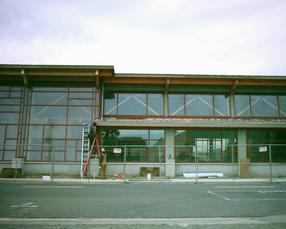 San Leandro Library on Manor Blvd  in Washington Manor is nearing Completion