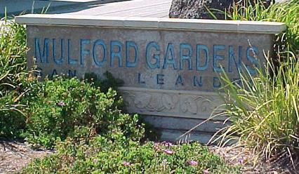 Mulford Gardens Homes close to the San Leandro Marina
