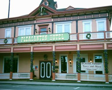 Pleasanton Hotel Down Town